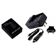Kit 1 Bateria + carregador AHDBT-301 para câmera e filmadora Go Pro 3 e 3+ Gopro HD Hero