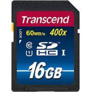 Cartão de Memória SDHC 16GB Transcend 400x Classe 10