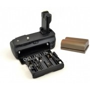 Kit Battery Grip BG-E2N + bateria BP-511 para Canon 20D, 30D, 40D, 50D