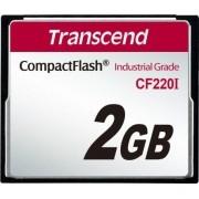 Cartão de memória CompactFlash Transcend 2GB TS2GCF220I Industrial Grade