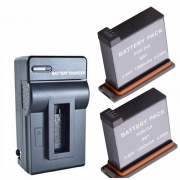2 Baterias + Carregador AB1 para DJI OSMO
