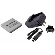 Kit Bateria NB-4L + carregador para Canon Digital Ixus 30, PowerShot SD30, PowerShot SD1100