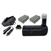 Kit Battery Grip MB-D80 + 2 Baterias + carregador para Nikon D80 e D90