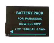 Bateria DMW-BLD10PP para câmera Panasonic Lumix DMC-G3