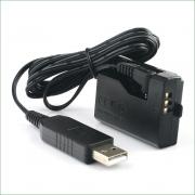 Adaptador de Bateria Fonte DR-E10 Para CANON LP-E10