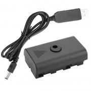 Adaptador de Bateria Fonte NP-F750 Para Sony NP-F750