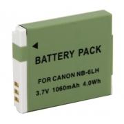 Bateria NB-6LH para camera digital e filmadora Canon S120 S200 SX170 SX275 SX510 D10 SD770