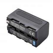 Bateria NP-F750/770 para câmera digital e filmadora Sony HD1000, PD170, V1, Z1, Z5, Z7, FX7, MC2000