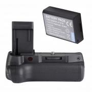 Battery Grip 1100d +Bateria LP-E10 Para Canon T5 E T6