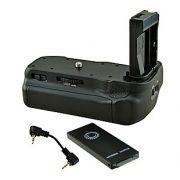 Battery Grip para Canon EOS 800D, Rebel T7i, 77D, Kiss X9i 9000D