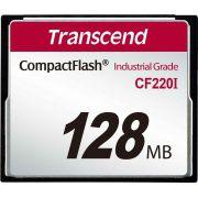 Cartão de Memória CompactFlash CF Transcend 128MB TS128MCF200I 200x Industrial Grade