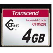 Cartão de memória INDUST TEMP CFAST CARD 4GB TS4GCFX520I SLC Industrial Grade