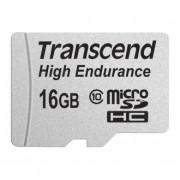 Cartão de Memória Transcend MicroSDHC 16GB Classe 10 High Endurance