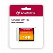 Cartao Memoria Compact Flash CF 1GB Transcend 133x