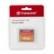Cartao Memoria Compact Flash CF 8GB Transcend 133x