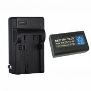 KIT 1 Bateria + 1 Carregador Para NIKON Coolpix EN-EL1