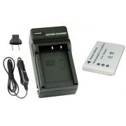 Kit Bateria EN-EL8 + carregador para Nikon Coolpix S1, S2, S3, S5, S6