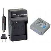 Kit Bateria IA-BP85ST + carregador para câmera digital e filmadora Samsung SC-HMX10, SC-MX10A, SMX-F33, VP-MX10
