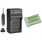 Kit Bateria NB-12L + carregador para Canon PowerShot N100 White, VIXIA mini X