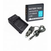 Kit  Bateria NP-50 + Carregador NP-50 Para FUJI