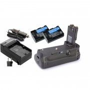 Kit Battery Grip BG-E11 para Canon EOS 5D Mark III + 2 Baterias LP-E6 +  Carregador