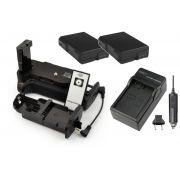 Kit Battery Grip MB-D3100 + 2 baterias EN-EL14 + carregador para Nikon D3100 D3200 D3300 D5300