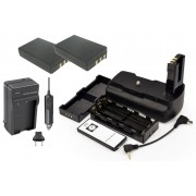 Battery Grip MB-D5000H para Nikon + 2 BATERIAS