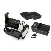 Kit Battery Grip MB-D5100 para Nikon D5100 D5200 + 2 baterias EN-EL14