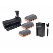 Kit Grip Blackmagic + 3 Baterias LP-E6 + Carregador