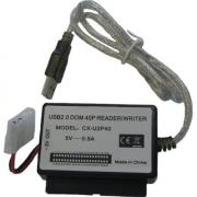 Leitor de cartão USB 2.0 Dom 40 Pinos