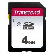 4GB SDHC TS4GSDC3020S Transcend Premium 300S