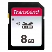Transcend TS8GSDC300S 8GB SDHC Memory Card 300S CL10