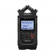 Zoom H4n Pro Black Gravador Digital de Áudio