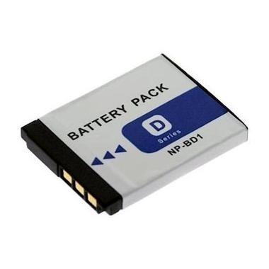 Bateria NP-BD1/FD1 para câmera digital e filmadora Sony Cyber-shot DSC-T2, T77, T300, T900