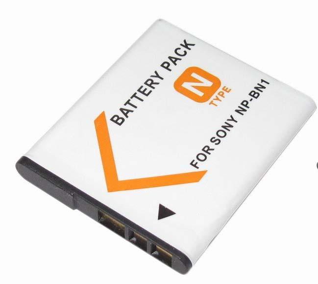 Bateria NP-BN1 para câmera digital e filmadora Sony DSC-W10, DSC-WX7, DSC-T110, DSC-TX5, DSC-T99D, DSC-J10