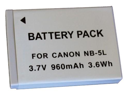 Bateria NB-5L 950mAh para câmera digital e filmadora Canon Digital Ixus 800 IS, PowerShot SD900