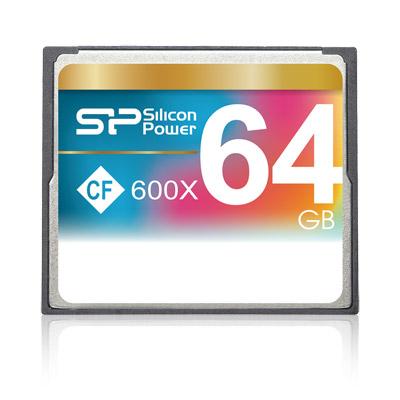 Cartão de memória CompactFlash Silicon Power 64GB 600x