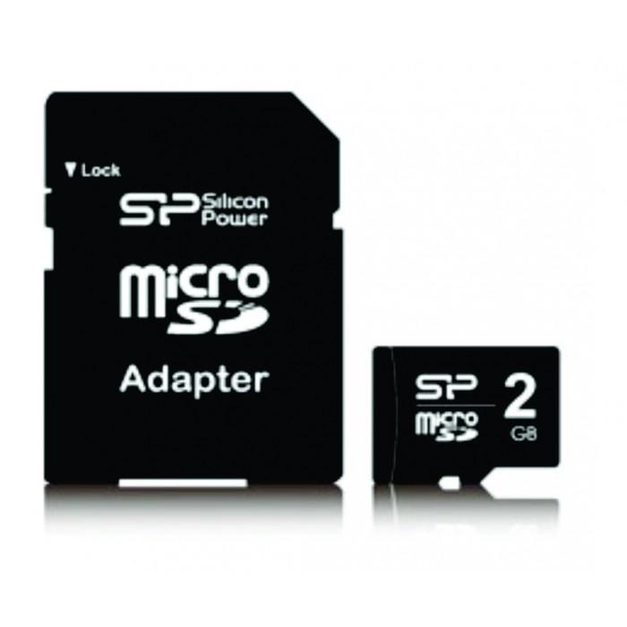 Cartão de Memória Silicon Power MicroSD 2GB