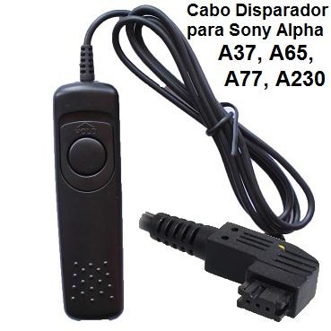 Cabo Disparador RM-S1AM para Sony Alpha RS4003