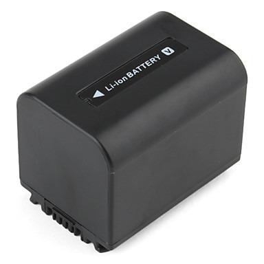 Bateria NP-FV70 para câmera digital e filmadora Sony HDR-XR160E, HDR-PJ50VE, DCR-SR77E, DCR-HC85E