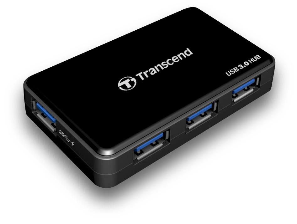 4 PORT USB 3.0 HUB TRANSCEND HUB3