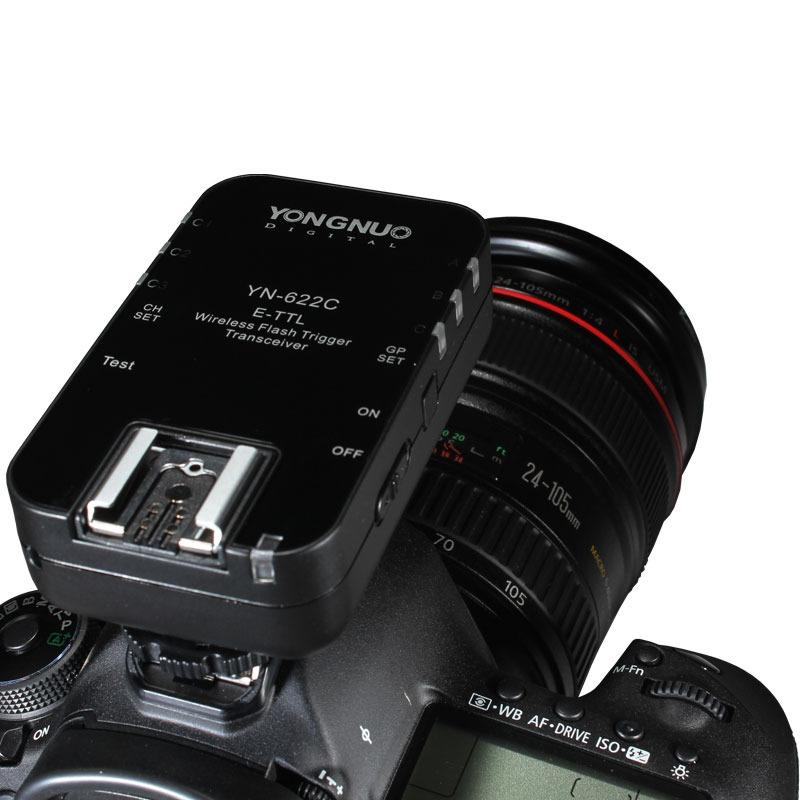 Rádio Flash Yongnuo YN-622C E-TTL (para Canon)