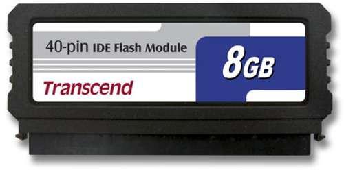 IDE Flash Module DOM 40 Pinos 8GB Transcend