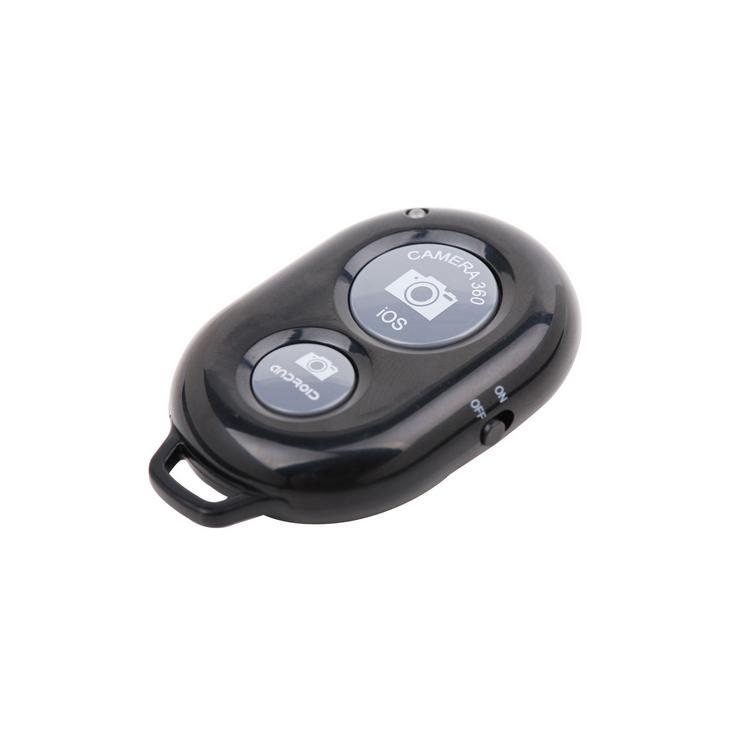 Bastão de Mão Selfie Monopod + Controle  Bluetooth Preto