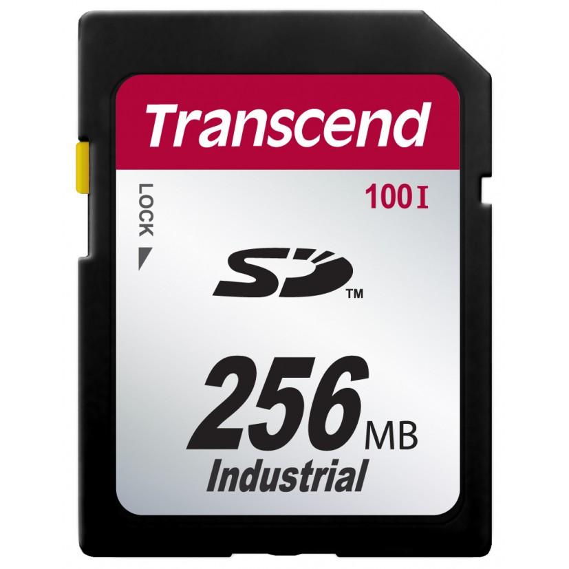 Cartão de Memória SD Transcend 256MB Industrial TS256MSD100I