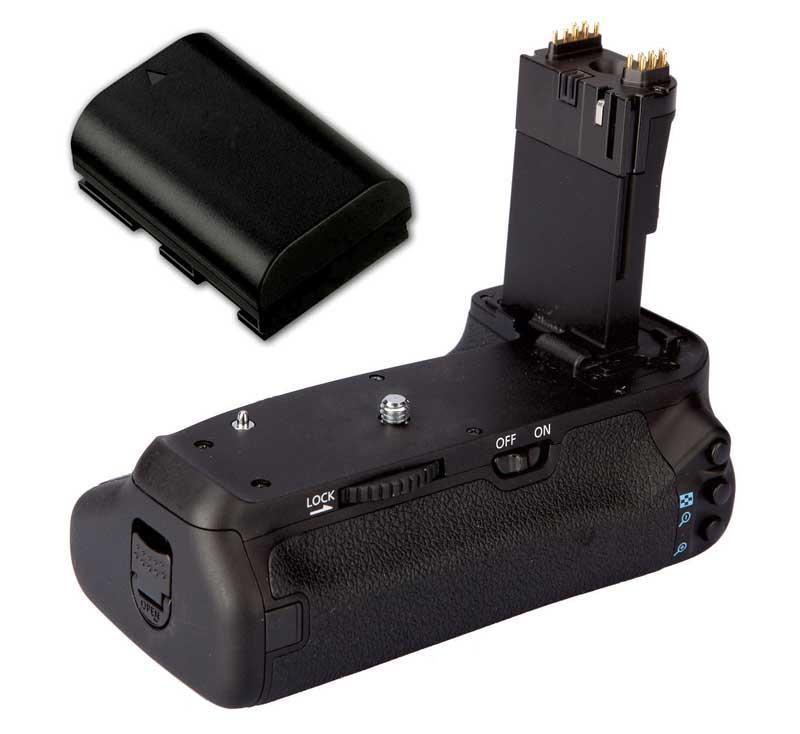 Kit Battery Grip BG-E14 para Canon EOS 70D + Baterias LP-E6