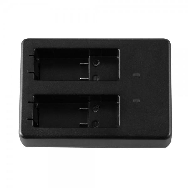 Carregador Duplo de Bateria para GoPro HD Hero 5 Hero 6
