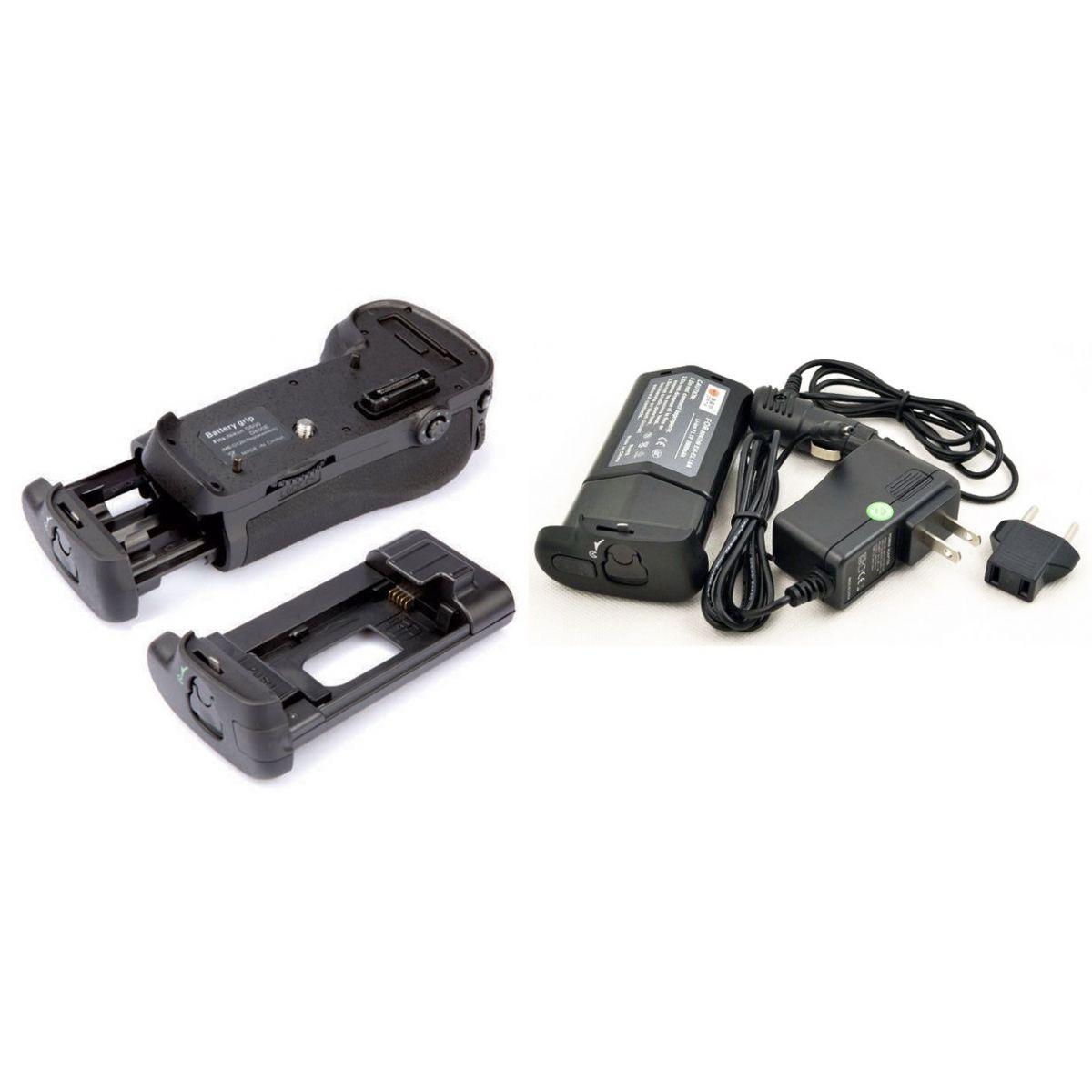 Kit Battery Grip MB-D12 + bateria EN-EL18A para Nikon D800, D810