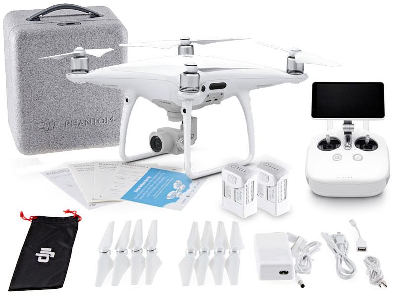 DRONE DJI CP.PT.000554 PHANTOM 4 PRO + RÁDIO CONTROLE C/ TELA INTEGRADA DE 5.5 POL