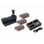 Kit Grip Blackmagic + 3 Baterias LP-E6 + Triplo Carregador